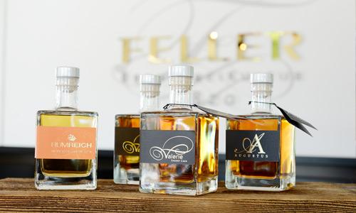 Brennerei Fellers prämierter Whisky, deutscher Rum und fruchtiger Gin