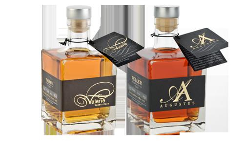 Prämierter Whiskey in Holzfässern gereift