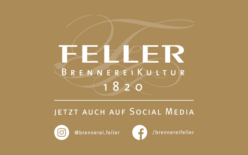 Brennerei Feller auf Social Media